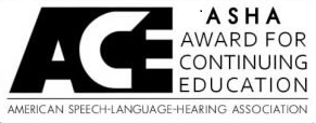 ASHA Award for Continuing Education logo